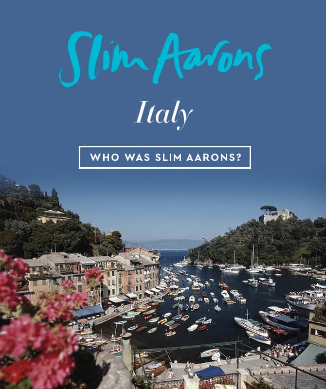 Slim Aarons - Italy Collection