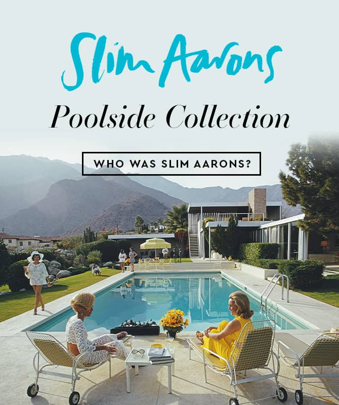 Slim Aarons - Poolside Collection