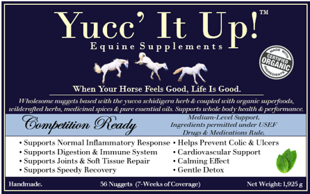 Yucc' It Up!™ Competition Ready formula