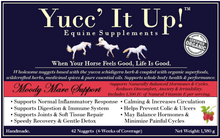 Load image into Gallery viewer, Yucc' It Up!™ Moody Mare Support formula