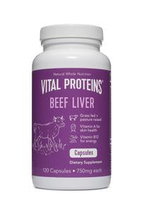 Beef Liver, 120 capsules