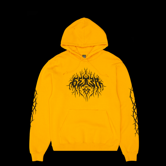 Getter Logo Hoodie - Gold