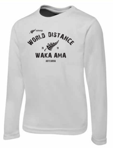 Training Shirt - Long Sleeve White