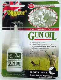 Gun oil 25ml Pocket Pack, ideal for scent dog training.
