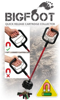 Bigfoot Quick Release Cartridge Collector