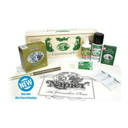 Wooden Boxed Cleaning Kit