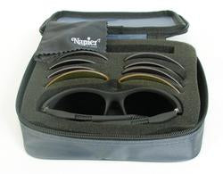 A1000 Pro Frame Shooting Glasses With Case and 5 Lenses in Set