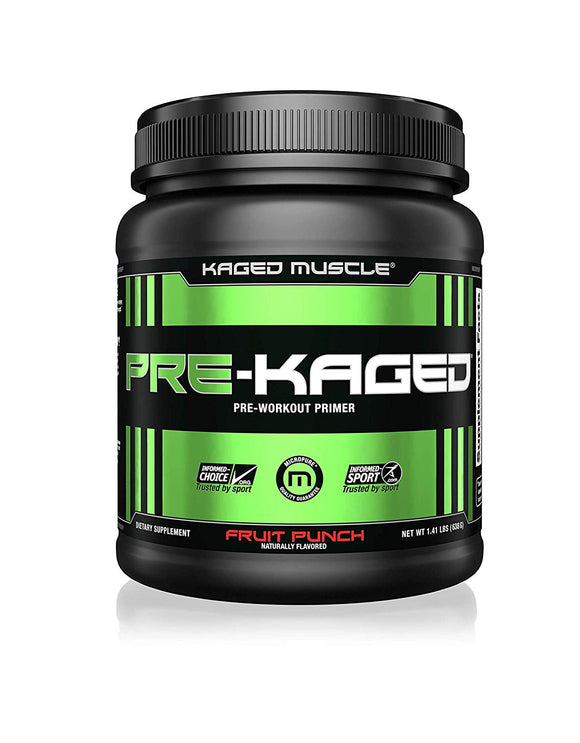 Kaged Muscle Pre-Kaged Pre Workout Powder - 638 g