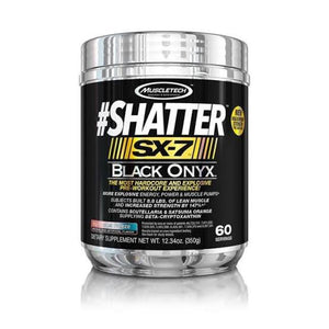 Muscletech Shatter SX7 pre workout 60 servings