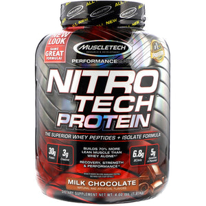 MuscleTech Nitrotech Performance Series - 4 lbs