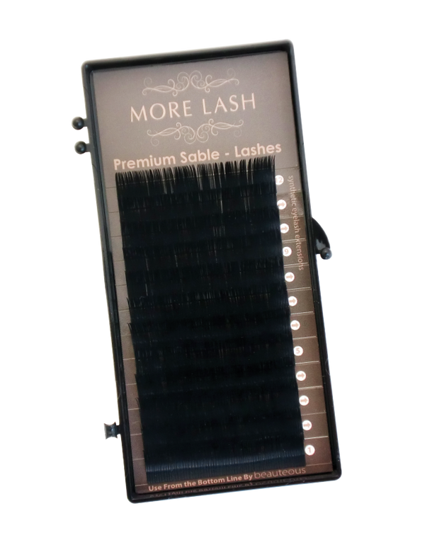 Premium Sable Lash Mixed 8mm - 15mm - MORE LASH