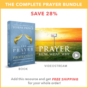 The Prayer of Protection (Hardback book) + Prayer—How. What. Why. (Videostream series)
