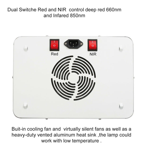 DUAL 300W RED LIGHT PANEL