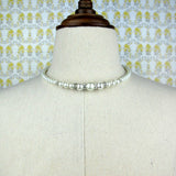 Pearl And Crystal Choker
