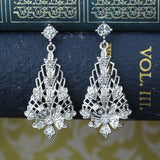 Crystal Lantern Drop Earrings