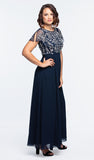 Rhonda In Navy By Frock & Frill