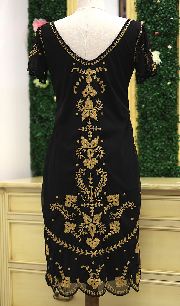 Florence In Black Gold By Gatsbylady