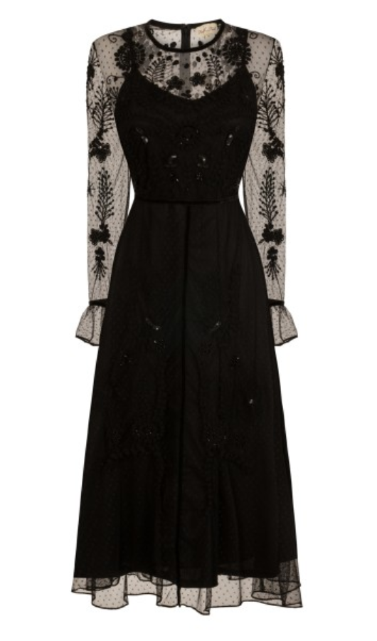 Drew In Black By Frock & Frill