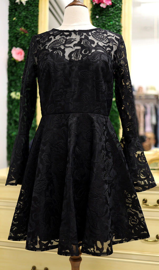 Fabiana In Black By Frock & Frill