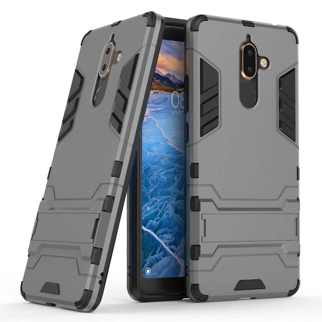 save off 5f923 79c12 DMG Protective Kick-Stand Armour Hard Back Cover Case for Nokia 7 ...
