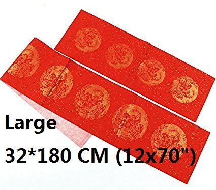 masterchinese diy blank couplet chinese new year 5 sets 12x70