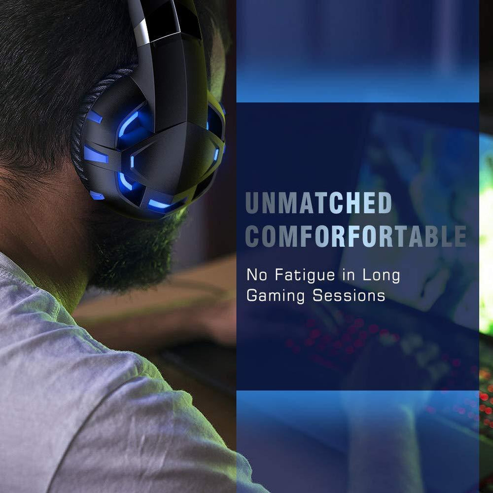 K2 Blue Gaming Headset