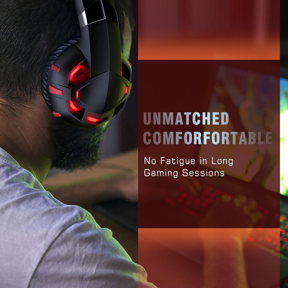 K2 Red Gaming Headset