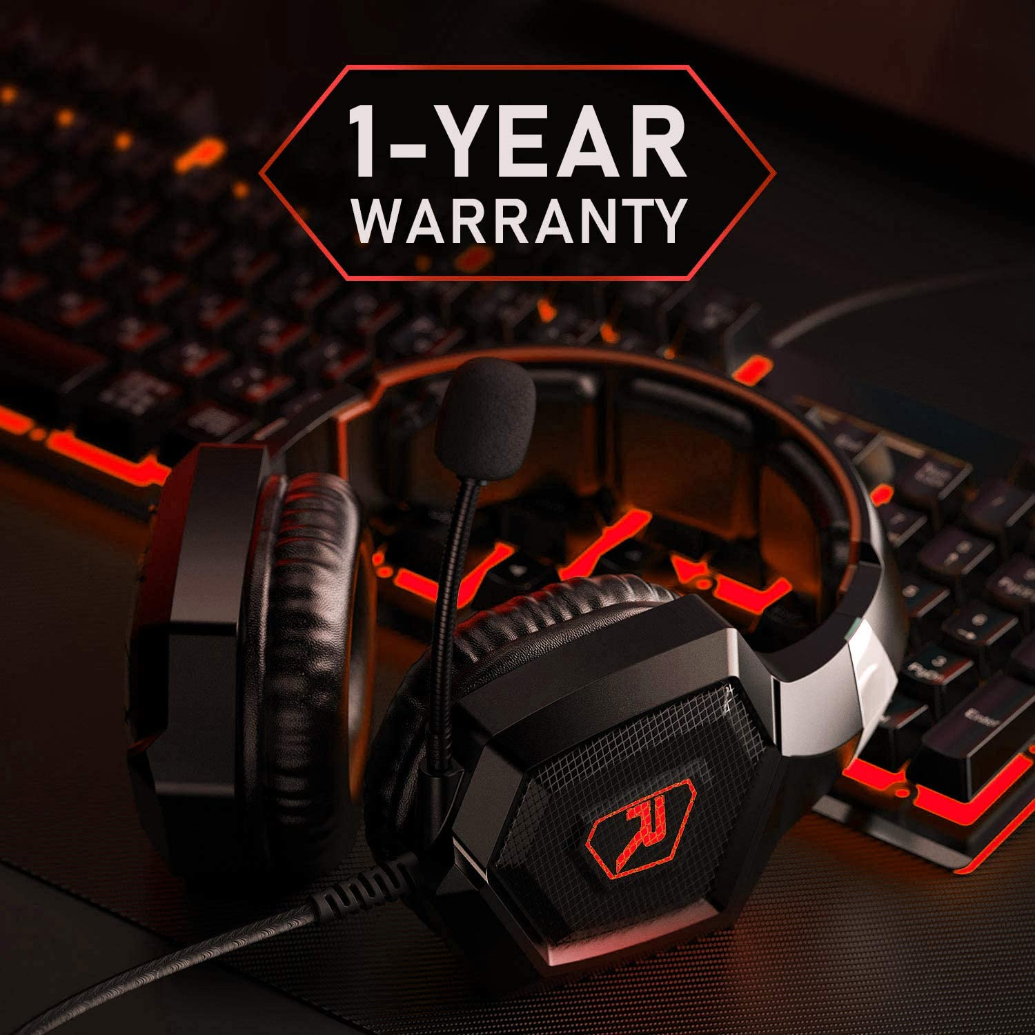 K8 Red Gaming Headset