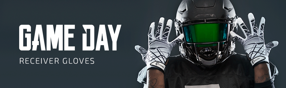 Game Day Receiver Gloves Product Header