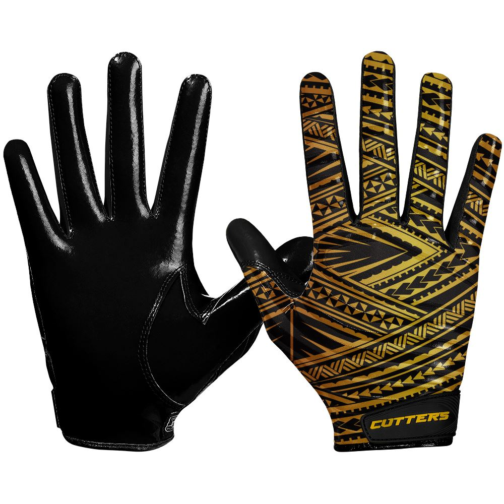 Gold Tribal Limited-Edition Rev 3.0 Design Gloves