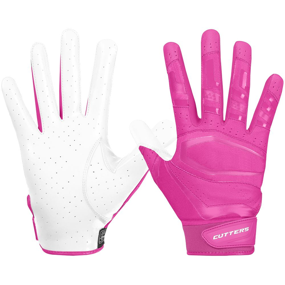 Pink Rev Pro 3.0 Football Receiver Gloves to Support Breast Cancer Awareness
