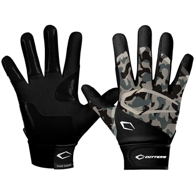 Power Control 2.0 Camo Baseball Batting Gloves