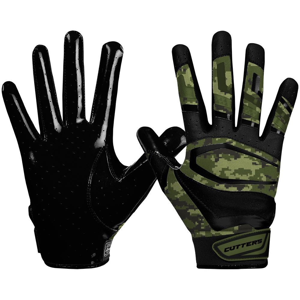S452 Rev Pro 3.0 Camo Football Gloves