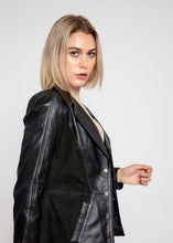 Load image into Gallery viewer, Womens Myrcella Suede Leather Blazer-Womens Leather Jacket-Fadcloset-XS-BLACK-FADCLOSET CA
