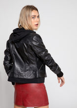 Load image into Gallery viewer, Annalise Womens Leather Jacket - Discounted!-Womens Leather Jacket-Fadcloset-XS-Black-FADCLOSET CA