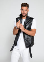 Load image into Gallery viewer, Men's Jax Ultimate Lambskin Leather Vest-Leather Vest-FADCLOSET-FADCLOSET CA