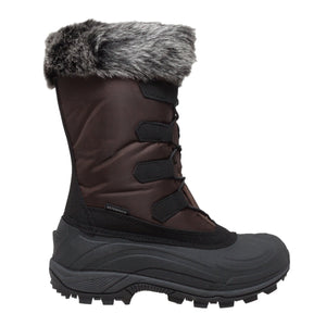 Women's Winter Tecs Nylon Winter Boot Brown-Women's Boots-Fadcloset-6-BROWN-FADCLOSET