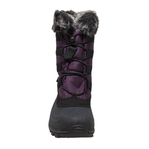 Women's Winter Tecs Nylon Winter Boot Purple-Women's Boots-Fadcloset-6-PURPLE-FADCLOSET