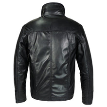 Charger l'image dans le visualiseur de la galerie, Mens Oxford Csaba Leather Jacket - Discounted!-Leather Jacket-Fadcloset-XS-Black-FADCLOSET CA