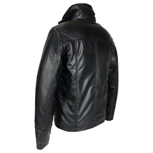 Mens Oxford Csaba Leather Jacket - Discounted! -Leather Jacket-Fadcloset-XS-Black-FADCLOSET CA