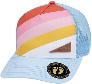 Wholesale Hang Ten Poly Twill Front Trucker Hat - eWholesaleHats.com