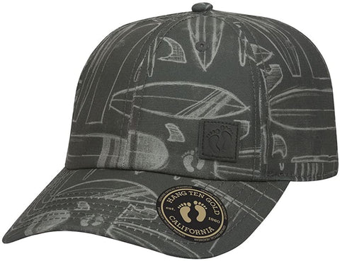 Wholesale Hang Ten Cotton Canvas Strapback Cap - eWholesaleHats.com