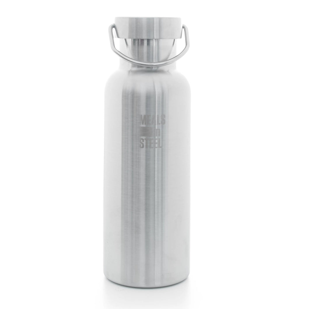 Double layer Water Bottle 500ml - Meals In Steel NZ