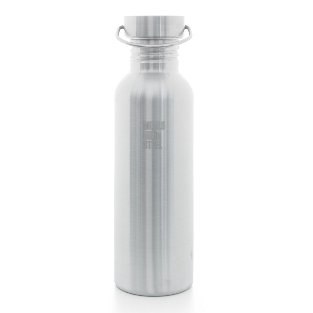 Single layer Water Bottle 750ml - Meals In Steel NZ