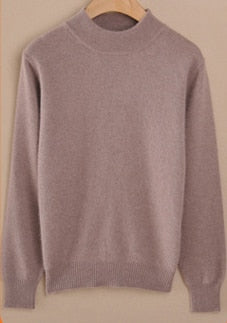 Cashmere pullover-Pretty woman-Tan-XXS-Pretty woman