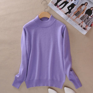 Cashmere pullover-Pretty woman-Lavender-XXS-Pretty woman