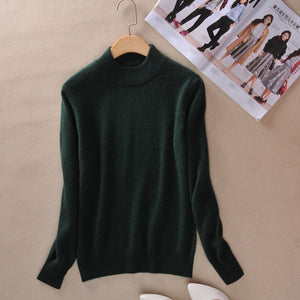 Cashmere pullover-Pretty woman-Dark Green-XXS-Pretty woman