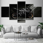 Tableau Moto Yamaha R1 Full Black