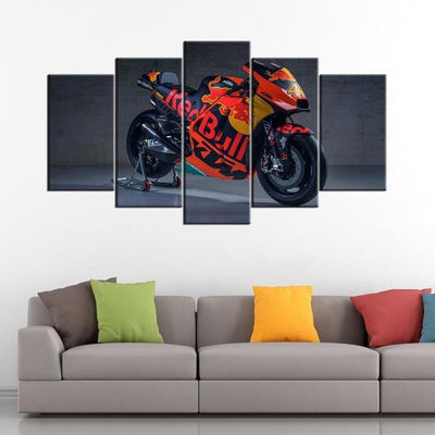 Tableau Moto KTM Red Bull (5 Parties)