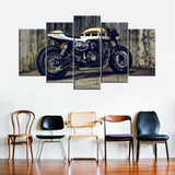 Tableau Moto Yamaha XJR 1300 Cafe Racer (5 Parties)